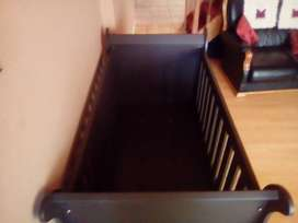 Sleigh cot never been used