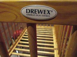 Łóżeczko drewex+materac