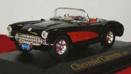 Модель Chevrolet Corvette 1957 г. 1:43