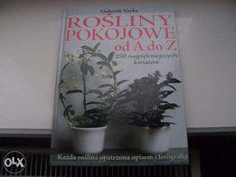 Rośliny Pokojowe Od A do Z 250 Najpiękniejszych Kwiatów Wielka Książka