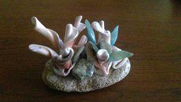 """Сувенирная фигурка из ракушек и камней""""морские цветы"""".Ручная работа"""