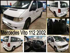 Mercedes Vito 112, 2002 stripping for spares