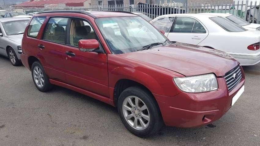 Subaru Forester 2.5 XS 2007 stripping for spares. 0