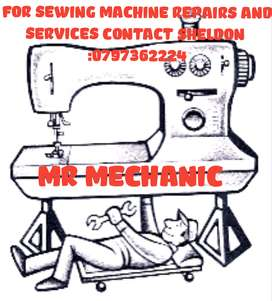 Sewing machine mechanic