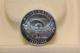 """10 euro 2007 Bundesrepublik Duetschland """"Wilhelm Busch"""", srebro"""