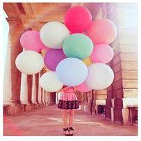 большие воздушные шары (шарики) диаметром 90-100 см
