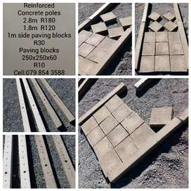 Concrete reinforced products
