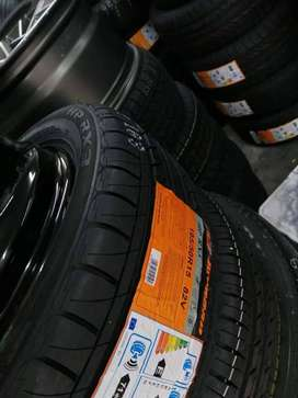 """14"""" New tyres, free fitting and balancing with new valves"""