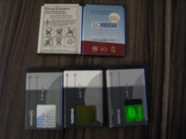 Аккумуляторы Nokia , Sony Erikson