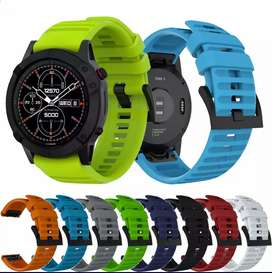 Straps/belts for Garmin fenix smartwatch