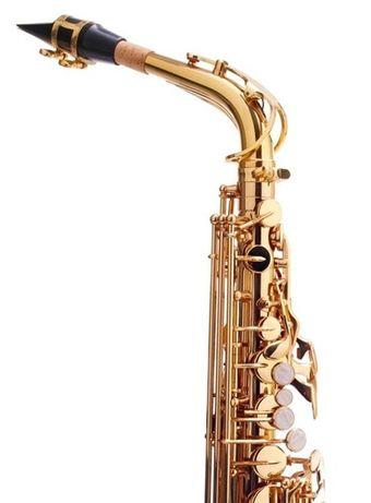NOWY Sakskofon altowy niemiecki Kirstein złoty M408 Zgorzelec - image 2