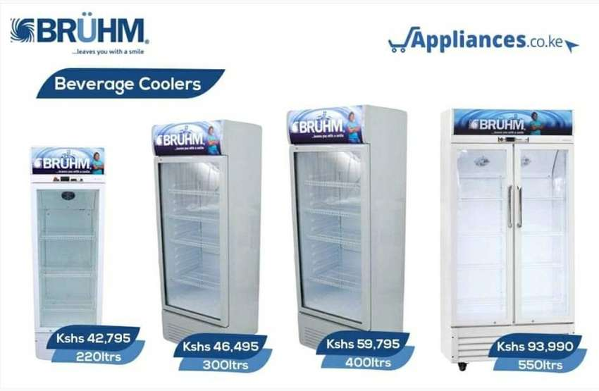 Special offer on Glass display fridges with warranty Bruhm. 0
