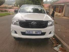 2013 TOYOTA HILUX D4D HIGH RIDER WITH AN ENGINE CAPACITY OF 2,5