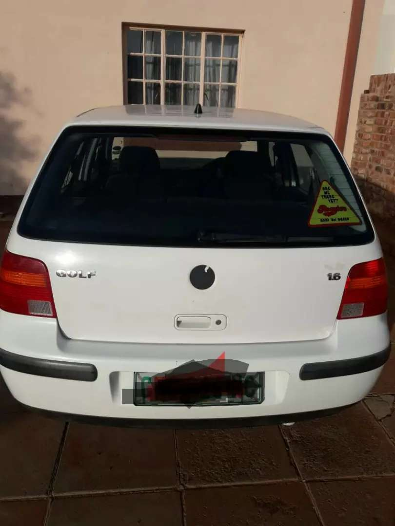 Golf 4 1.6 For Sale,Price is negotiable 0