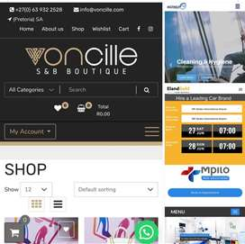 eCommerce websites and lots more