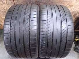 We sell quality tyres