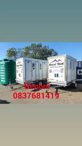 Mobile toilet nd portable toilets nd water tanks
