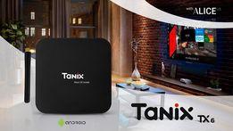 4Гб ОЗУ 6K Смарт ТВ бокс Tanix TX6 Alwinner H6 Wi-Fi 2.4/5ГГц Андроид!