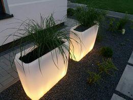 Donica podświetlana Led lampa zewnętrzna Ip65