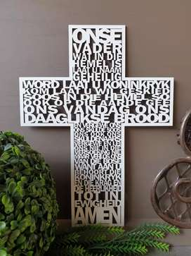 Melamine Cross