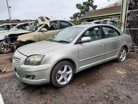 Toyota Avensis 2.2 D4D 2006 Model - Stripping for Spares