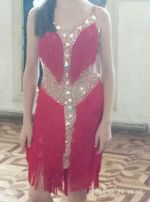 Супер платье латина