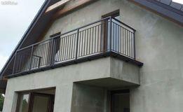 balustrady.barierki, poręcze, stal, stal kwasoodporna,schody drewniane