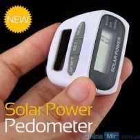 Шагомер на солнечных батареях, счетчик калорий, педометр на пояс