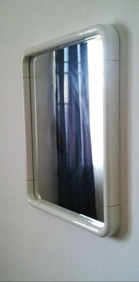 Beautiful White Moulded Mirror - R150 ONCO