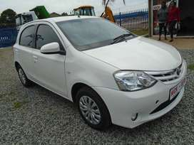 2016 Toyota Etios 1.5 with 65000km