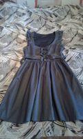 Сарафан платье школьное размер s