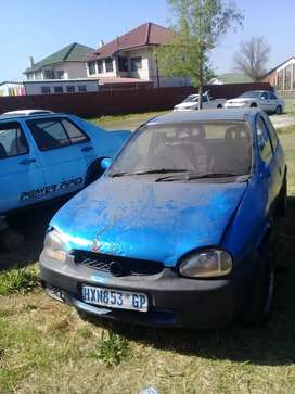 Opel corsa lite striping for spares engine is 1.6l