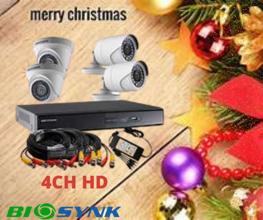 CCTV SYSTEMS HD 1MP 4 channel 0
