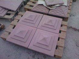 Дашики (покрытия) для столба, забора из бетона. Разные фактуры и цвета