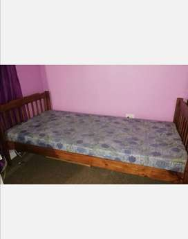 Single bed and mattress for sale.