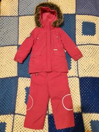 Зимний костюм (куртка-парка+штаны) LENNE для девочки 3-4 лет