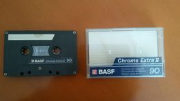 Kaseta magnetofonowa, chromowa, BASF Chrome Extra II C90