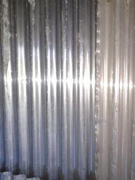 Продам оцинк.лист в кусках и шифер из алюминия пр-во С