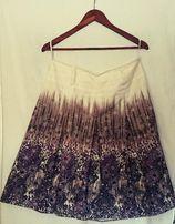 Spódnica dmuchawce, kwiaty