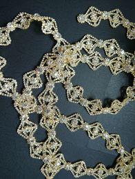 Złoty pasek biżuteryjny