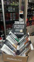 Белковый батончик BioTech USA ZERO Bar 50 гр протеиновый лучше Quest