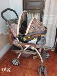 Car seat and stroller 0