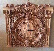 Годинник настінний, деревяний