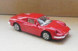 FERRARI DINO 246 GT фирмы BURAGO. масштаб 1:43