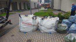 Wywóz gruzu w workach - big bag
