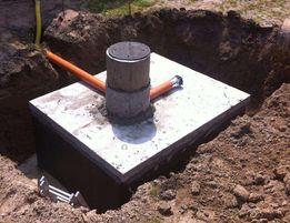 Szamba betonowe Szczelne, Zbiorniki na SZAMBO z montażem PRODUCENT