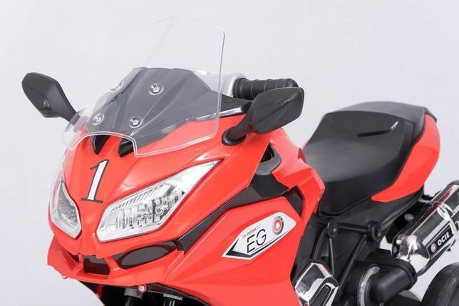 Nowy motor na akumulator, motocykl elektryczny 3 kołowy, niebieski Nowy Dwór Mazowiecki - image 3