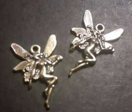VINTAGE FAIRY ANGEL CHARMS LOT 2
