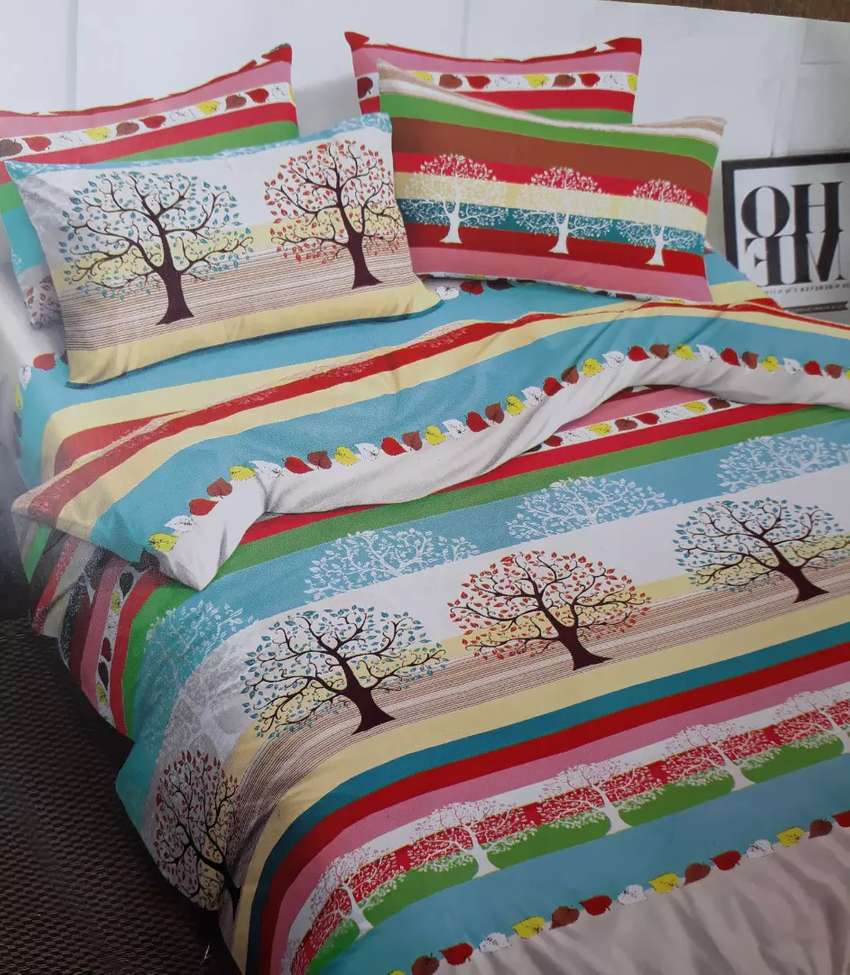 Beautiful bedsheet available 0