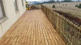 Decking and cladding